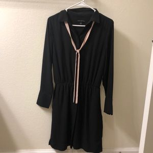 Banana Republic Black Long Sleeve dress